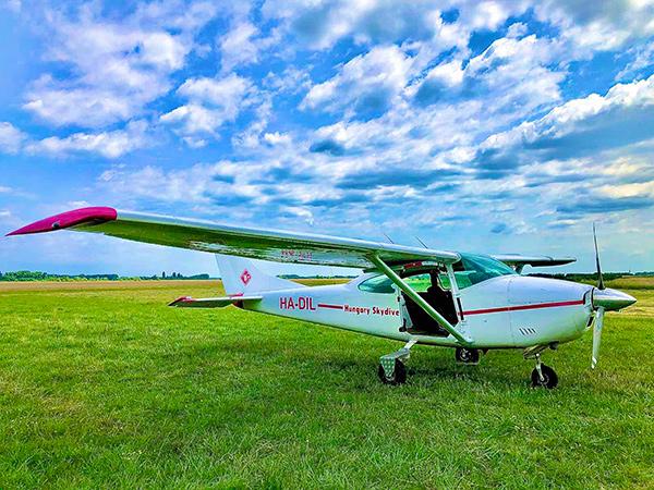 Cessna repülőgép - Tandemugrás