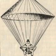 Joseph Montgolfier sikeres ejtőernyős kísérlete