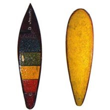 Szörfdeszkához hasonlító snowboard