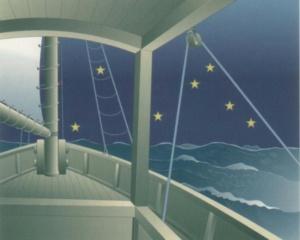 Navigáció a csillagok és a kötélzet helyzete alapján