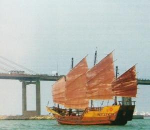Indonéz pinisi - modern formában