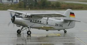 Tandemugrás - AN-2 repülőgép