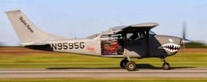 Tandemugrás - Cessna 205-206 Skywagon