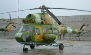Tandemugrás - Mi-2 helikopter
