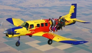 Tandemugrás - Pacific Aerospace PAC P-750 XSTOL