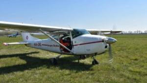 Kis cuki Cessna - HA-DIL tandemugrás repülőgép